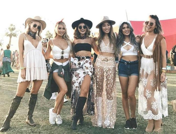 Outfit für Festival