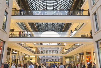 Einkaufen im Herzen von Berlin